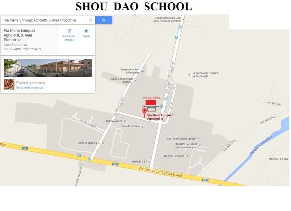 mappa shou dao school