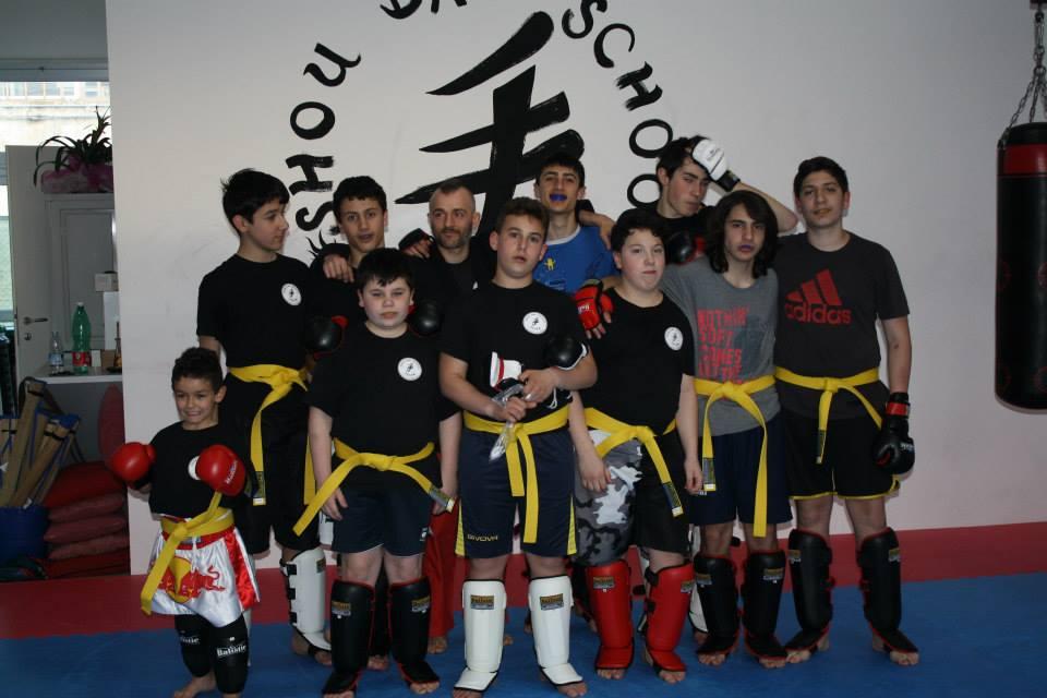 primo sguardo prima i clienti più recente Esame cintura gialla di MMA, 9 aprile 2014 | Shou Dao School